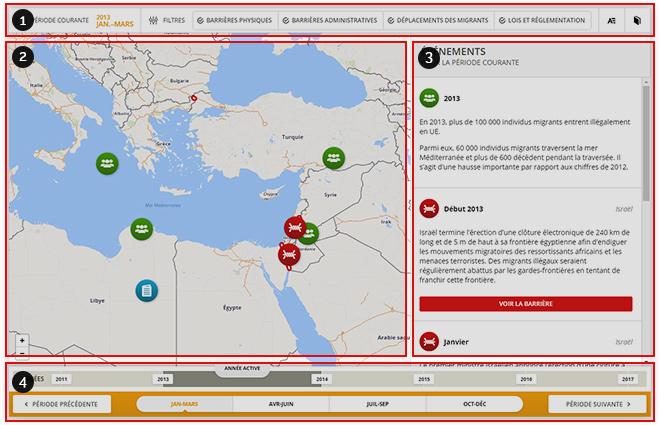 Carte De Lafrique Interactive.Carte Interactive Des Enjeux Migratoires Au Carrefour De L Europe De L